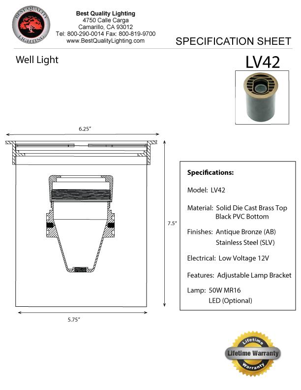 Bql Rockford Lv42 Best Quality Lighting